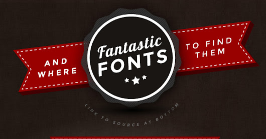 Download Free Fonts That Are Better Than Yours!