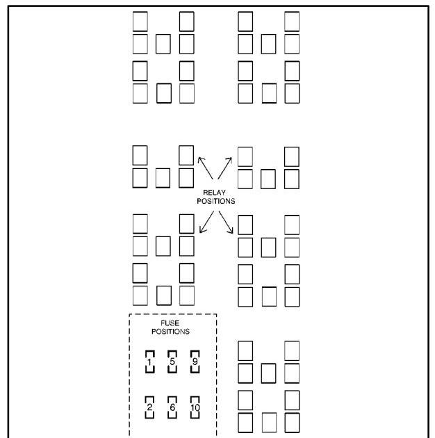 34 2000 Buick Lesabre Fuse Box Diagram