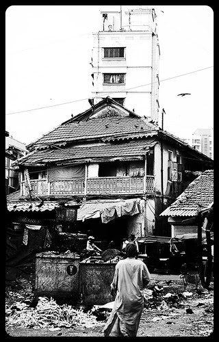 Bandra Bazar Road - Once God Lived Here He Has Moved Away by firoze shakir photographerno1
