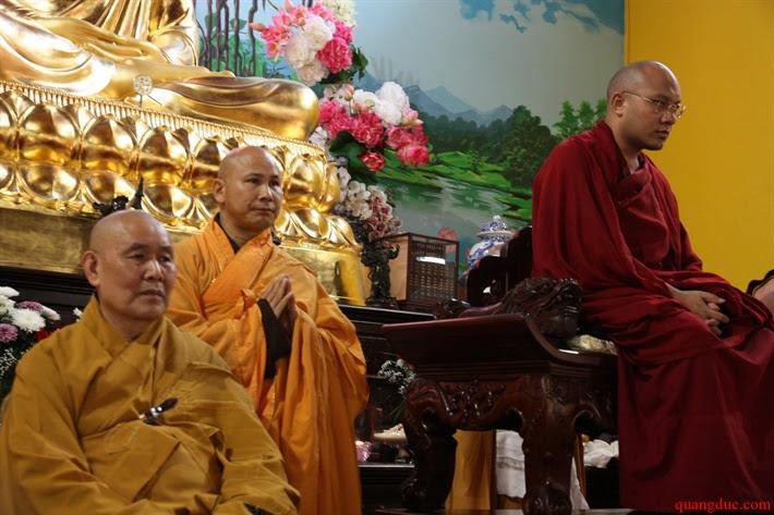 Duc Karmapa vieng tham Chua Khanh Anh (121)