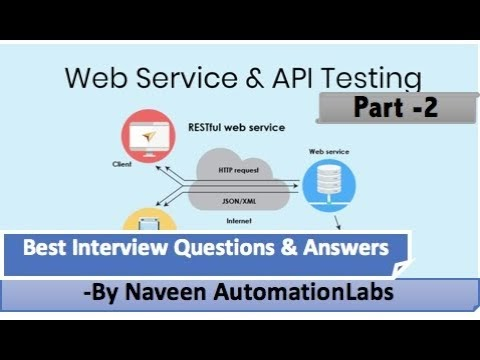 Naveen AutomationLabs: API & WebServices Testing Interview Questions