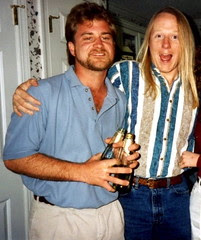 Me and Council Bradshaw circa 1991
