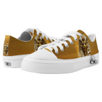 King Tut ZIPz Low Top Sneakers, Printed Shoes