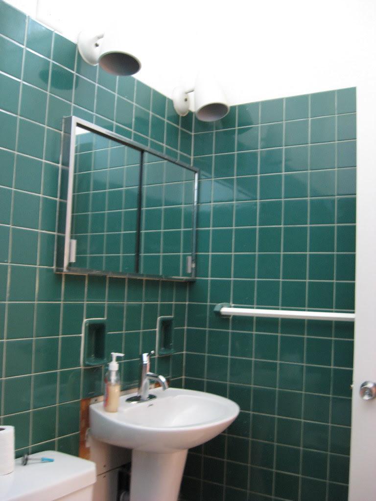 Hall Bathroom - BEFORE - January 2010