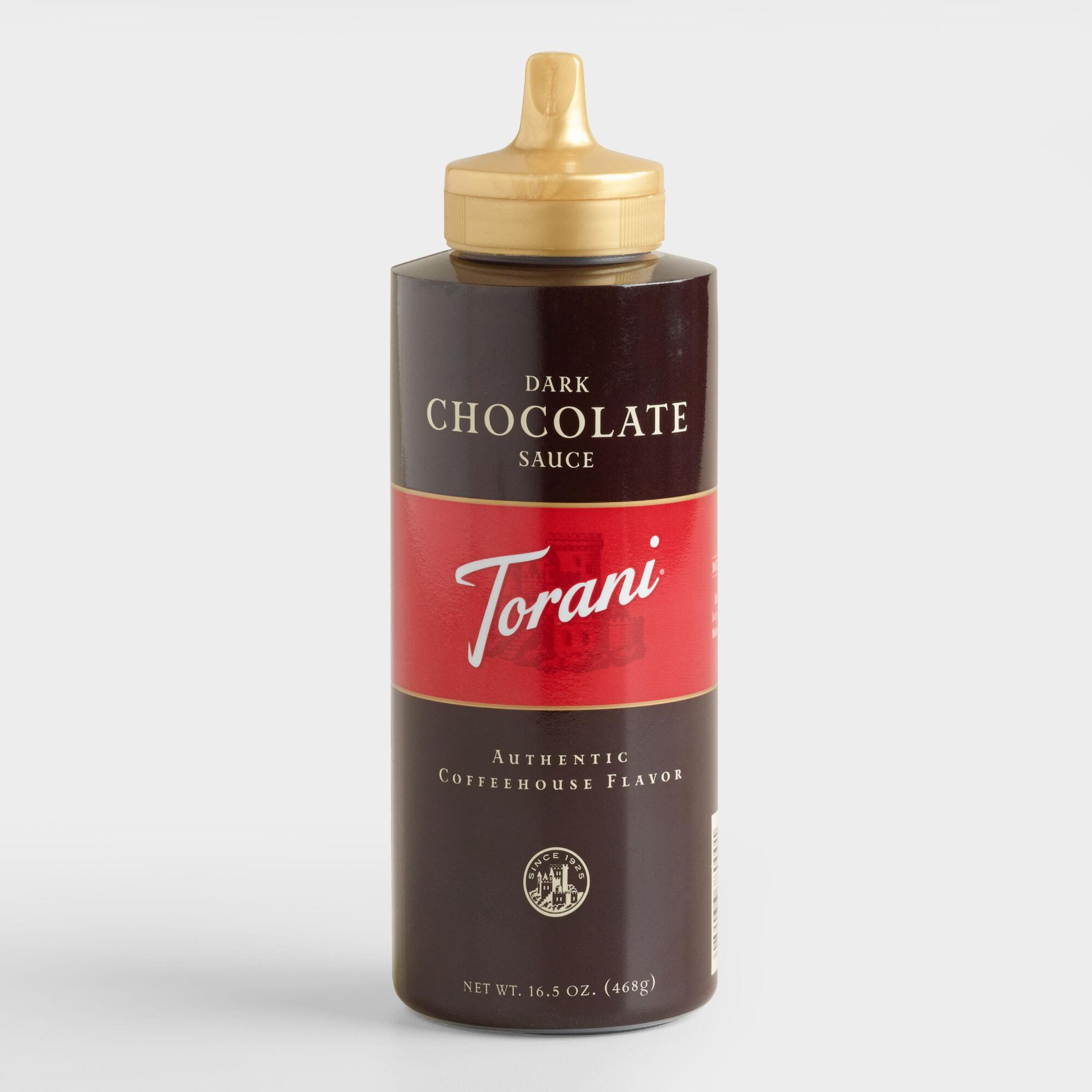 Torani Dark Chocolate Sauce from Cost Plus World Market