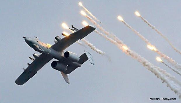 Mengenal Pesawat Penghancur Tank, A-10 Thunderbolt II