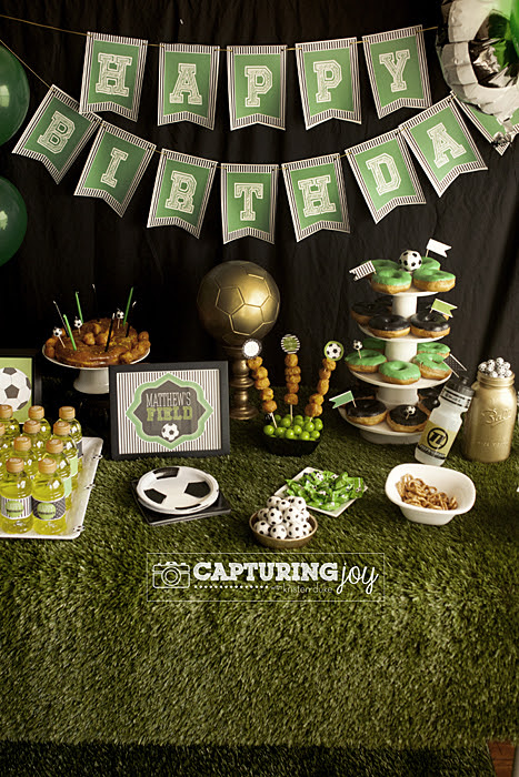 Soccer Party on a Golden Birthday - Capturing Joy with Kristen Duke