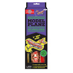 T.S. Shure Rubber Band Powered Airforce Angel Model Plane Kit