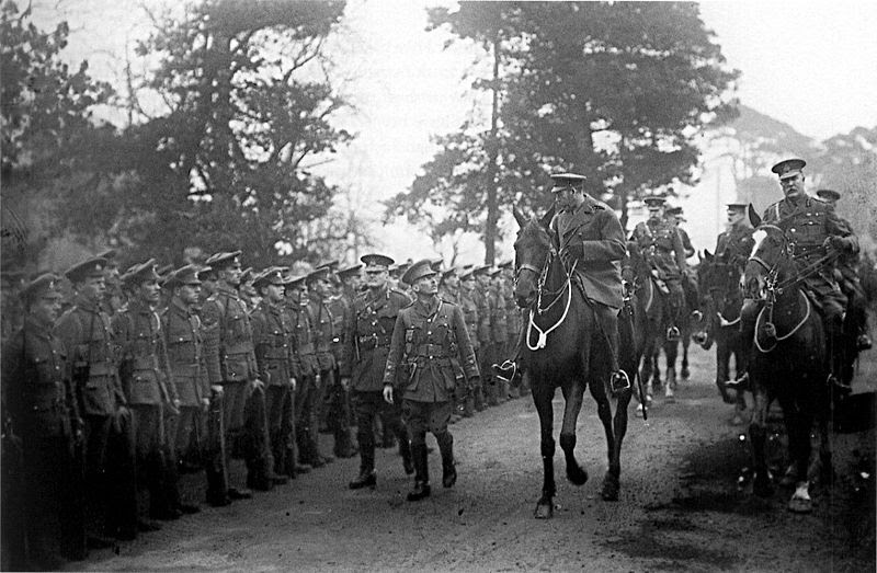 File:George V inspecting 29th Division at Dunchurch March 1915.jpg