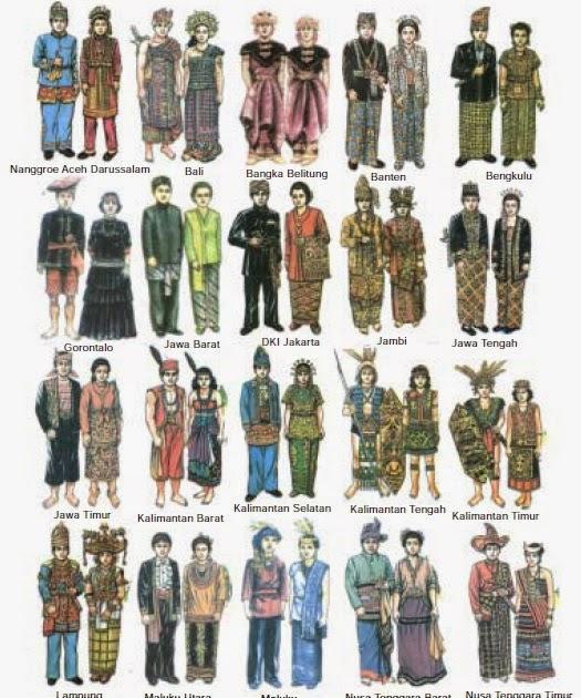 Foto Baju Adat Daerah Di Indonesia 34 Gambar Pakaian Adat Indonesia Beserta Asalnya Gaya Terbaru