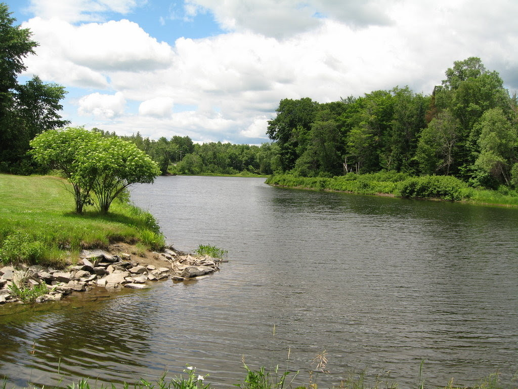 Guilford ME BEAUTIFUL RIVER PARK IN GUILFORD MAINE Photo