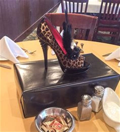 Shoe Centerpieces, High Heel Birthday Party Centerpieces