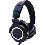 Audio-Technica ATH M50X Over-Ear Headphones