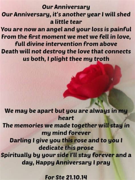 Our Anniversary   The Grief Toolbox   Celebration of Life