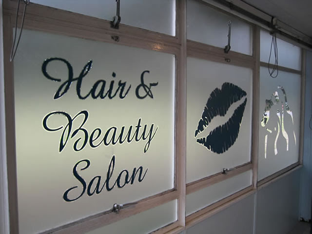 Window Graphics from Universal Signs, Stanstead Abbotts ...