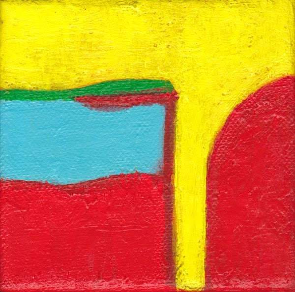 Contemporary Abstract Art Painting - Misguided