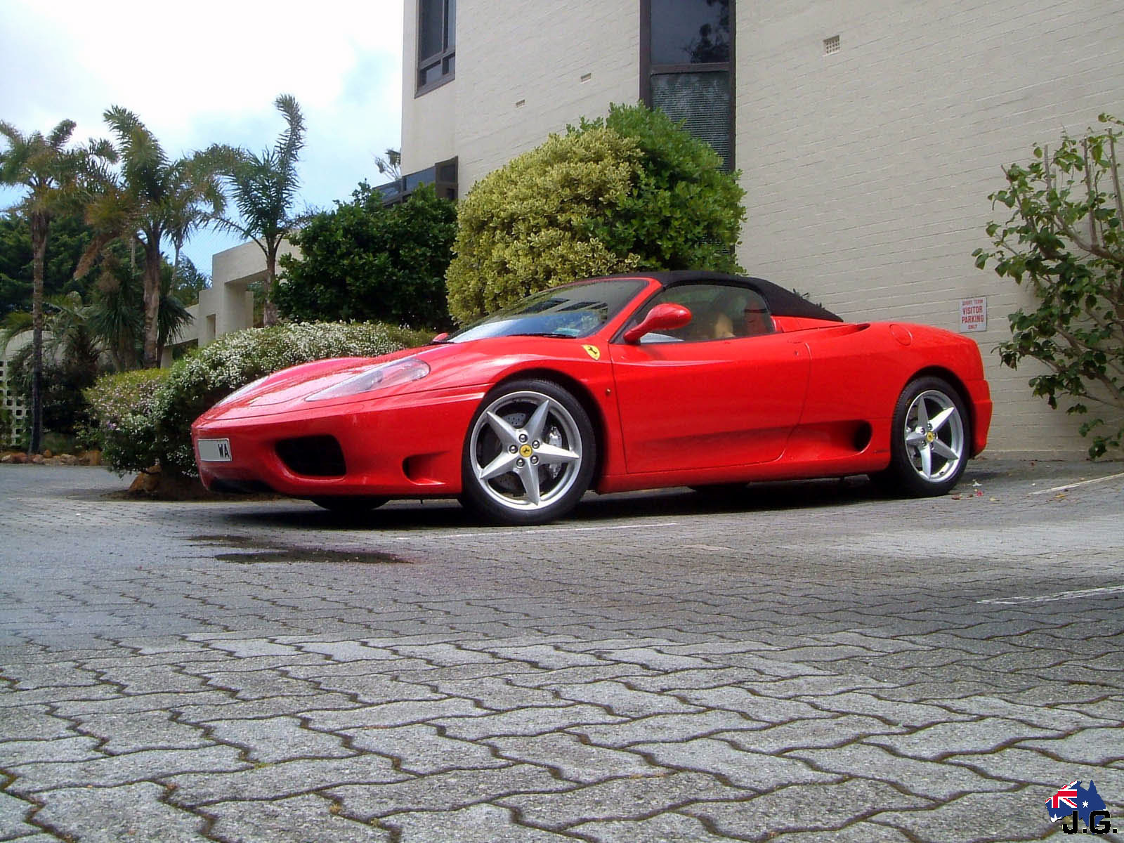 Ferrari 360 Challenge Stradale Sport Car Upg