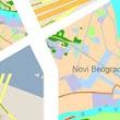 digitalna mapa beograd Infograd   Besplatan gradski informator   Google+ digitalna mapa beograd