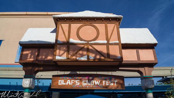Disneyland Resort, Disney California Adventure, Frozen, Fun, Olaf's, Snow, Fest