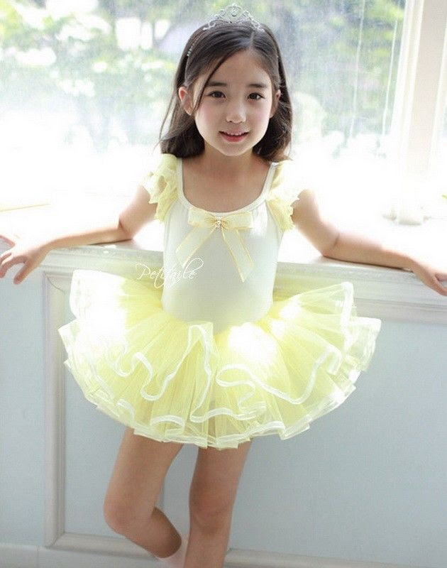 girl princess dress ballet tutu kid leotard dancewear 37y