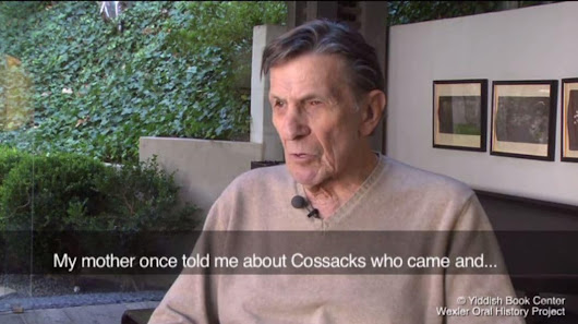 The Jewish roots of Leonard Nimoy and 'live long and prosper'