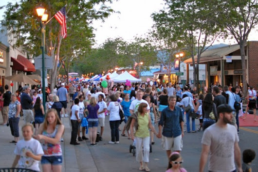 Downtown Pleasanton 1st Wednesday Street Parties 2017