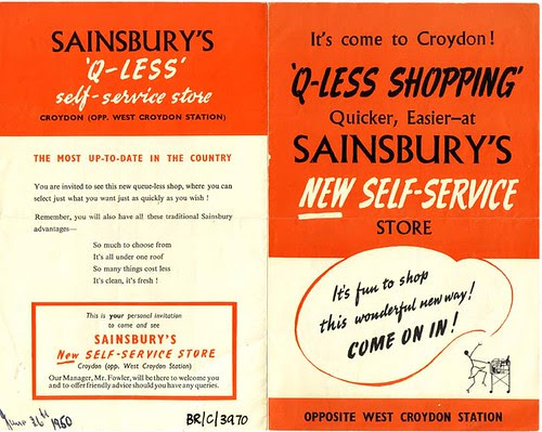 Sainsbury's Q-less self service store