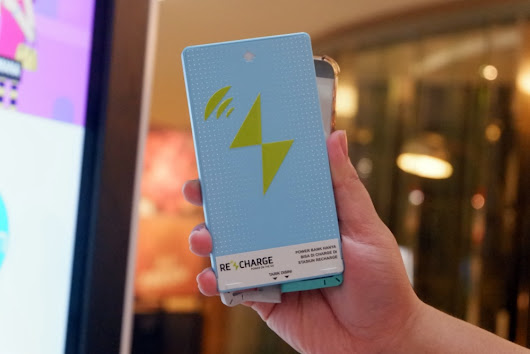 PINJEM POWER BANK DI MALL