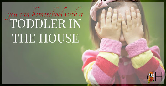 You Can Homeschool with a Toddler in the House