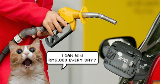 You Could Stand A Chance To Win RM5,000 Just By Pumping Petrol At Shell