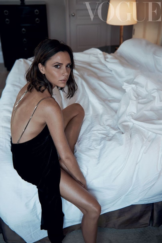 Victoria Beckham Vogue UK October 2016 Photoshoot
