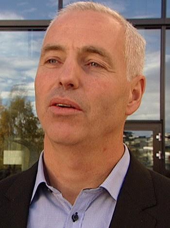 Gordon Petterson i Kripos - FØLGER MED: Gordon Petterson, leder for seksjon for etterretning i Kripos, følger etableringen av den nye MC-klubben i Norge nøye. - Foto: Sydnes Jacobsen/Stenersen / NRK