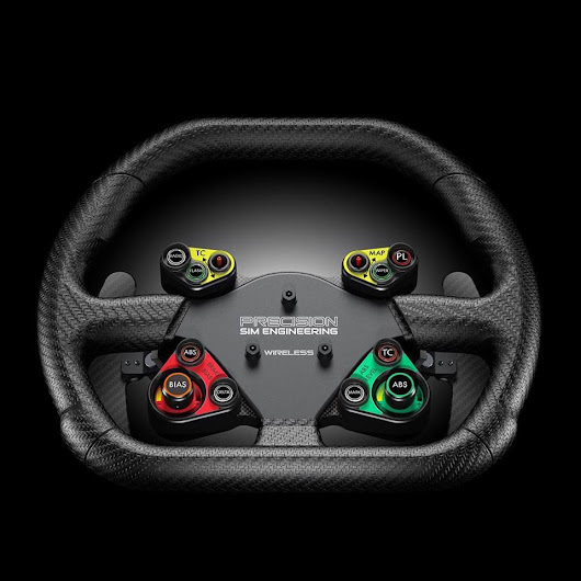 PRECISION SIM ENGINEERING : Volant GT3 Wireless - Simrace-Blog