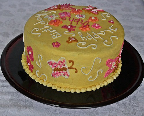 Sourdough Vanilla Cake