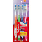 Colgate Toothbrush, Wave, Zigzag, Soft, Value Pack - 4 toothbrush