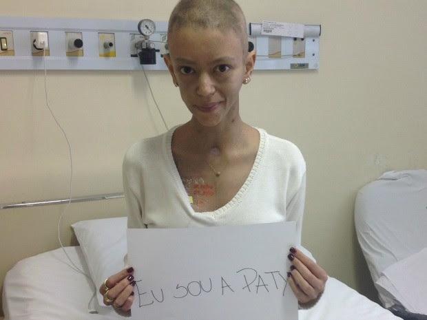 Campanha ajuda jovem com leucemia a encontrar doador (Foto: Patrícia Oshiro Bentran/Arquivo Pessoal)