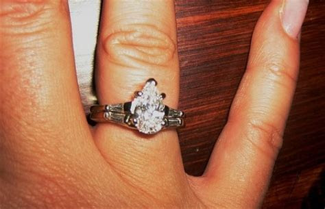 Pear Cut Diamond Engagement Rings (Latest Trends And Ideas)