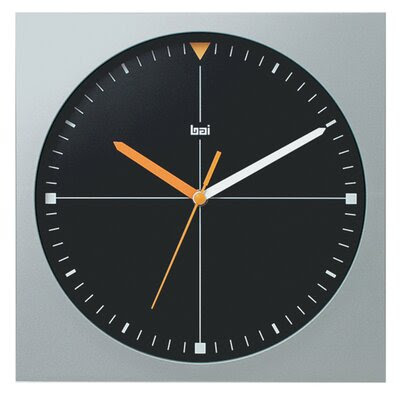 Bai Design Square Quadra Modern Wall Clock | Wayfair