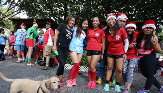 Santa Hash runners dash for cash for Hong Kong's most vulnerable