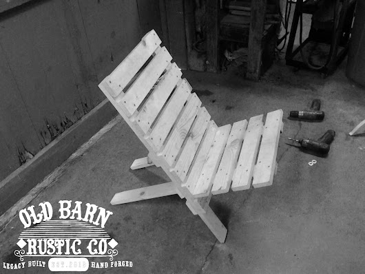 Old Barn Rustic Co. » Old Jack Folding Chair Collection