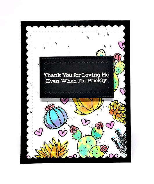 #SSDTicTacToeChallenge - Creative Fools Blog Hop - Giveaway WINNER! - Creations For Kindness