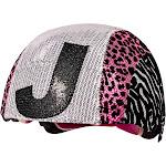 Raskullz Glam Gear Kids Bike Helmet Sequins Zebra Pink Leopard Print for Cycling, One size, J