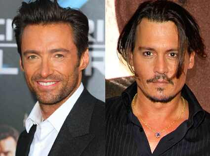 Hugh Jackman, Johnny Depp