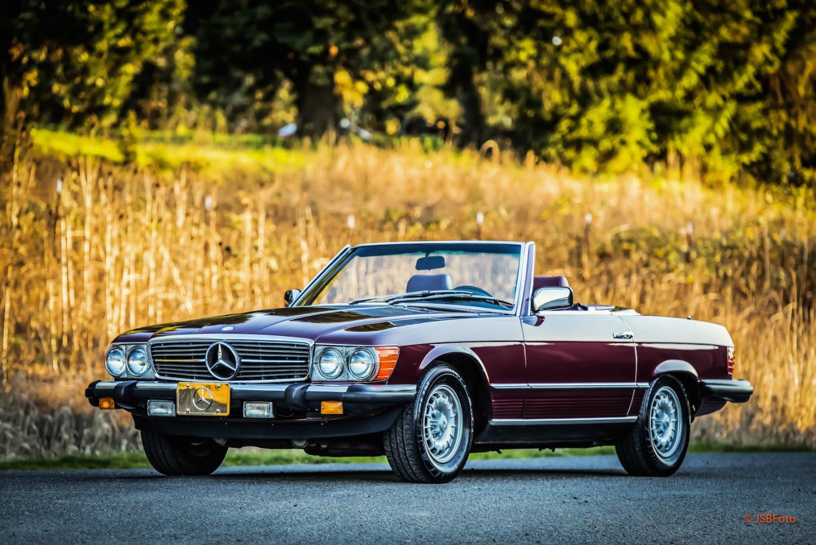 1985 Mercedes 380SL Roadster Convertible 79K miles lots of ...