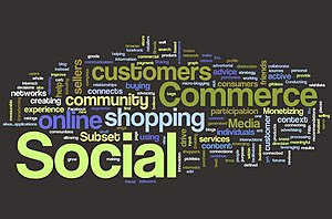 English: Wordle Cloud Definition of Social Com...