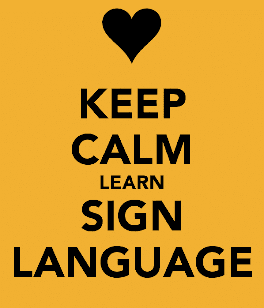 Learn more about Sign Language and its uses
