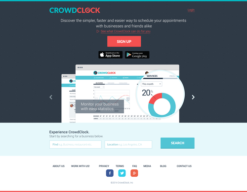 CrowdClock has (re)Launched!