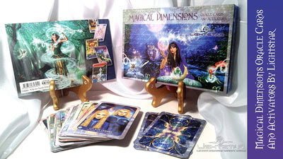 Magical Dimensions Oracle Cards and Activators By Lightstar