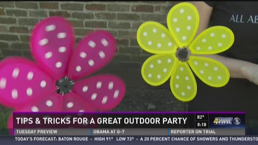 Tips and Tricks for Outdoor Parties
