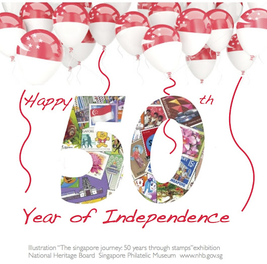 Wishing Singapore Happy 50 years of independence and a great jubilee celebration weekend